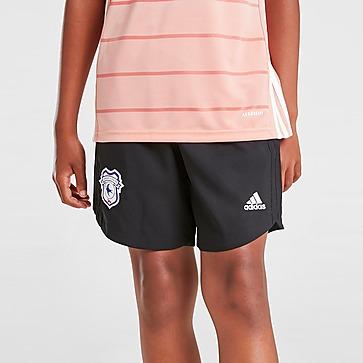adidas Cardiff City FC 2021/22 Away Shorts Kinder