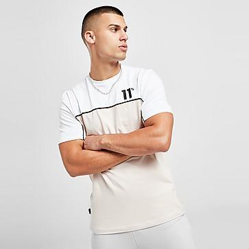 11 Degrees Colour Block T-Shirt Herren
