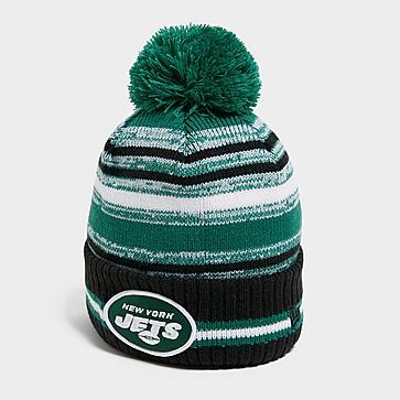New Era NFL New York Jets Beanie Pom Mütze