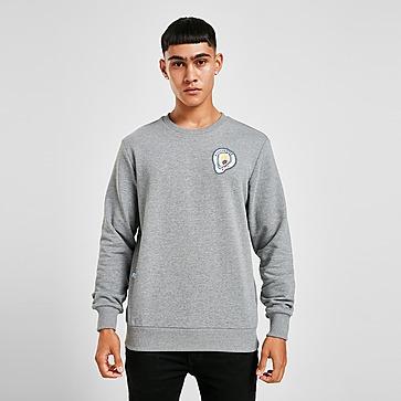 Puma Manchester City Madchester Graphic Crew Sweatshirt Herren
