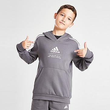 adidas Badge of Sport Fleece Hoodie Kinder