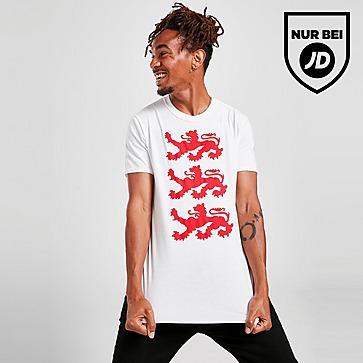JD England Three Lions T-Shirt Herren