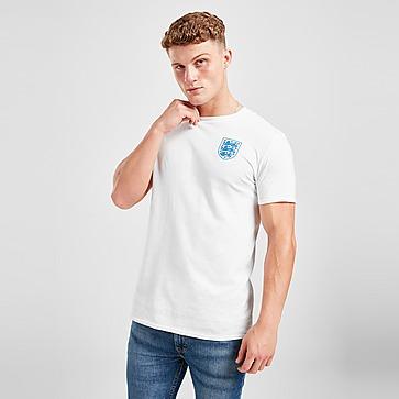 Official Team England Crest Short Sleeve T-Shirt Herren