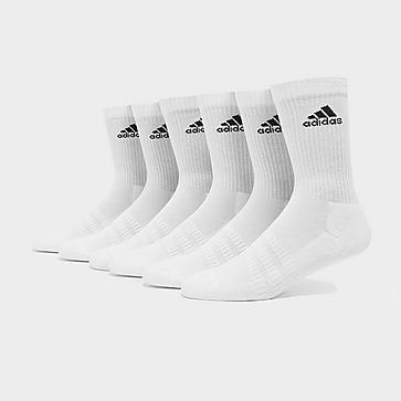 adidas 6 Pack Badge of Sport Cushioned Crew Socken Herren