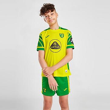Joma Norwich City FC 2021/22 Home Shorts Kinder