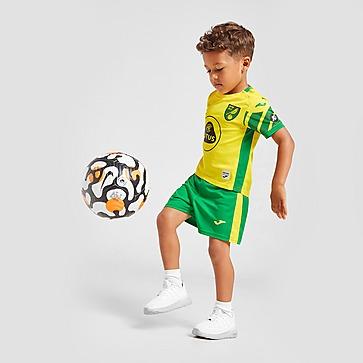 Joma Norwich City FC 2021/22 Home Kit Baby