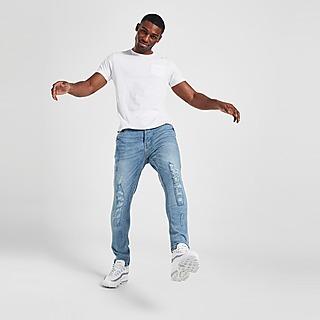 Brave Soul Justin Heavy Rip Jeans Herren