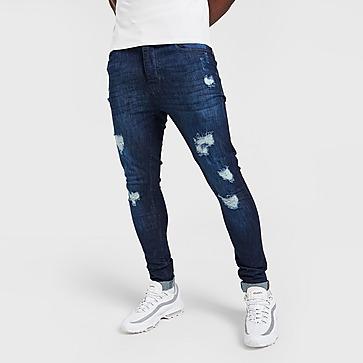 Brave Soul Distressed Heavy Rip Jeans Herren