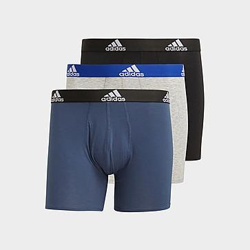 adidas Logo Boxershorts, 3 Paar