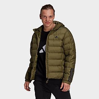 adidas Itavic 3-Streifen Midweight Hooded Jacke