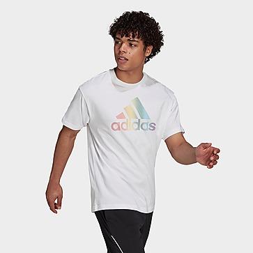 adidas Pride Logo Graphic T-Shirt – Genderneutral