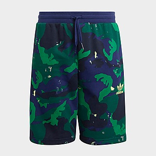 adidas Originals Allover Camo-Print Shorts