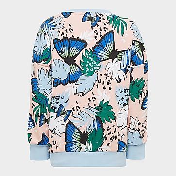 adidas Originals HER Studio London Animal Flower Print Sweatshirt und Leggings Set