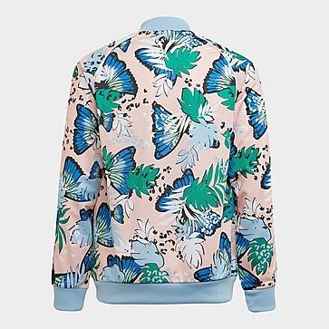 adidas Originals HER Studio London Animal Flower Print SST Originals Jacke