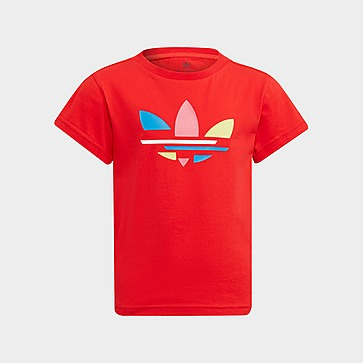 adidas Originals Girls' Essential Trefoil T-Shirt Kinder