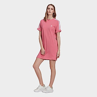adidas Originals Adicolor Classics Roll-Up Sleeve T-Shirt-Kleid