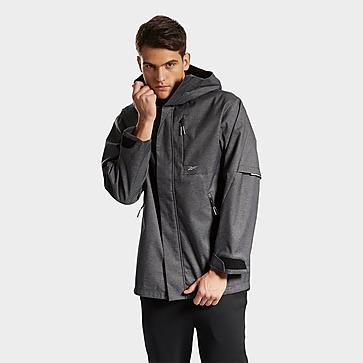 Reebok dmx hard shell mid-length jacket