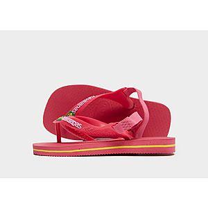 48faa746575f Havaianas Brasil Logo Flip Flops Infant ...