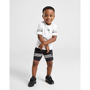 52af3ec9 adidas Originals Spirit T-Shirt/Shorts Sæt Småbørn ...