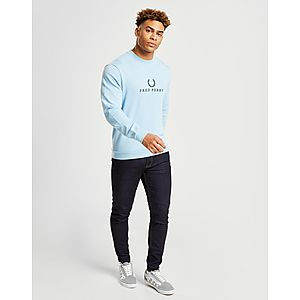 a42370d3a8a Fred Perry Embroidered Sweatshirt Fred Perry Embroidered Sweatshirt