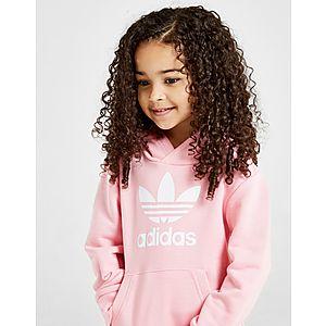 3abb1f48330 ... adidas Originals Girls' Adicolour Overhead Tracksuit Children
