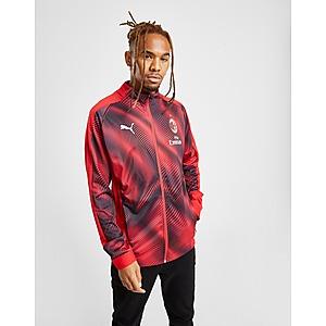 adidas Originals Stadium Coat In Red | Raincoat outfit