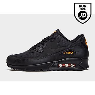 nike sneakers tilbud, mænds nike air max 90 sko black yellow