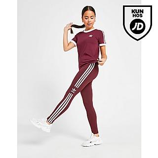 Damer Rød Adidas Originals Leggings | JD Sports