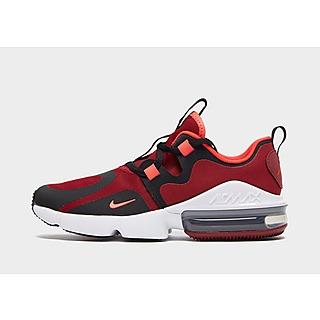 2019 Nike Air Max 97 Sko Brun Hvid Rød Tilbud