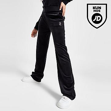 Juicy Couture Diamante Velour Joggingbukser Dame