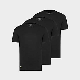 Lacoste 3 Pack Lounge T-Shirts Herre