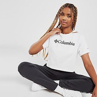 Columbia Logo Crop T-Shirt