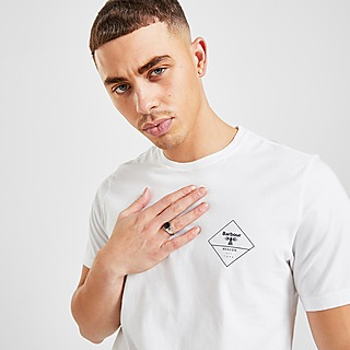 Barbour Beacon Box Logo T-Shirt Herre