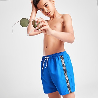Calvin Klein Tape Swim Shorts Junior