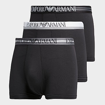 Emporio Armani Loungewear 3-Pack Mix Waistband Boxer Shorts