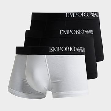 Emporio Armani Loungewear 3 Pack Boxer Shorts Herre