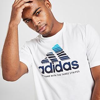 adidas Badge Of Sport Fade T-Shirt Herre