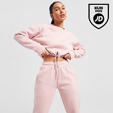 Pink Soda Sport Essentials Crop Crew Sweatshirt Dame
