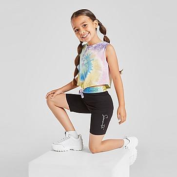 Sonneti Girls' Mini Rainbow Tank/Cycle Shorts Set Children