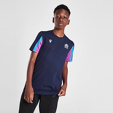 Macron Scotland Rugby Travel T-Shirt Junior