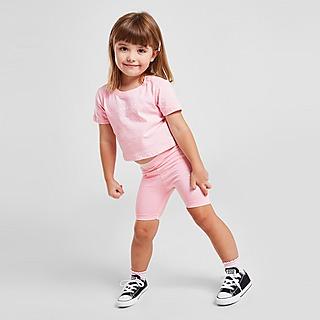 Sonneti Girls' Micro T-Shirt/Cycle Shorts Set Infant