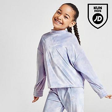 Nike Girls' Velour Crew Sweatshirt Children