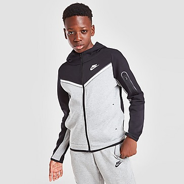 Nike Tech Fleece Full Zip Hættetrøje Junior