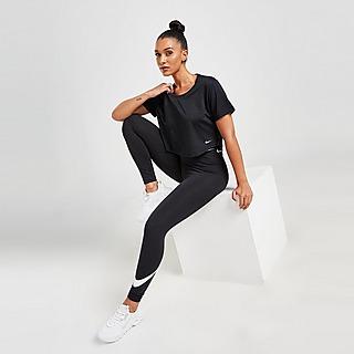 Nike Training One Mesh Short Sleeve Top