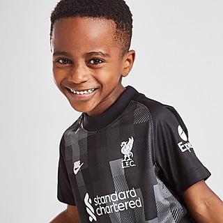 Nike Liverpool FC 2021/22 Goalkeeper Third Kit Children
