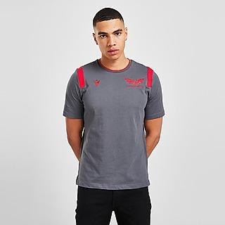 Macron Scarlets 2021/22 Travel T-Shirt