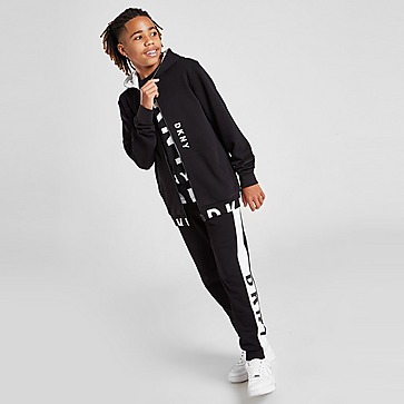 DKNY Fleece Tape Full Zip Hoodie Junior