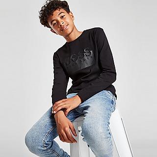BOSS Essential Logo Long Sleeve T-Shirt Junior