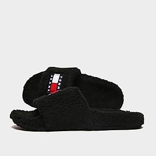 Tommy Jeans Flag Fur Slides Women's