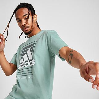 adidas Badge Of Sport Box Fade T-Shirt Herre
